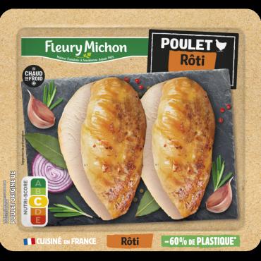 Filet de poulet cuisiné rôti