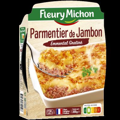 Parmentier de Jambon Emmental Gratiné