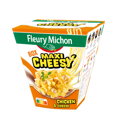 BOX MAXI CHEESY (chicken & cheese)