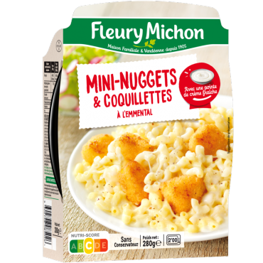 Mini nuggets de poulet & coquillettes