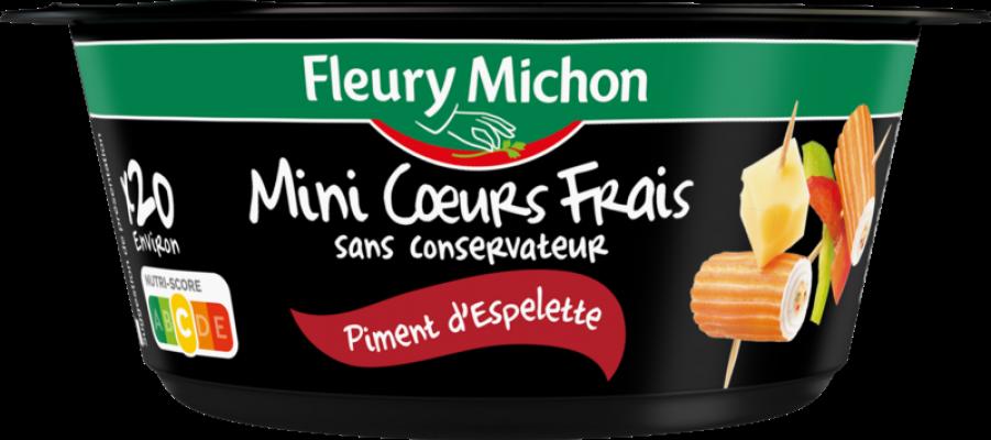 Mini Coeurs Frais Piment d'Espelette