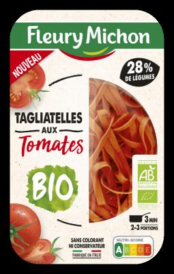 Tagliatelles aux tomates BIO