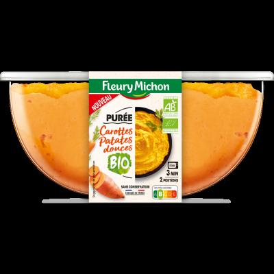Purée de carottes et patates douces BIO