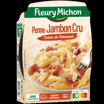 Penne Jambon Cru Crème de Parmesan