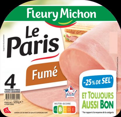 Jambon de Paris Fumé -25% de sel
