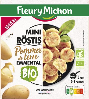 Mini-röstis pommes de terre emmental BIO