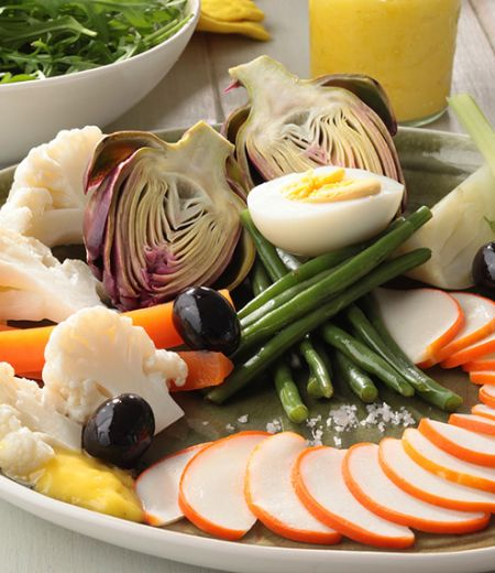 Émincés de surimi aux légumes façon aïoli