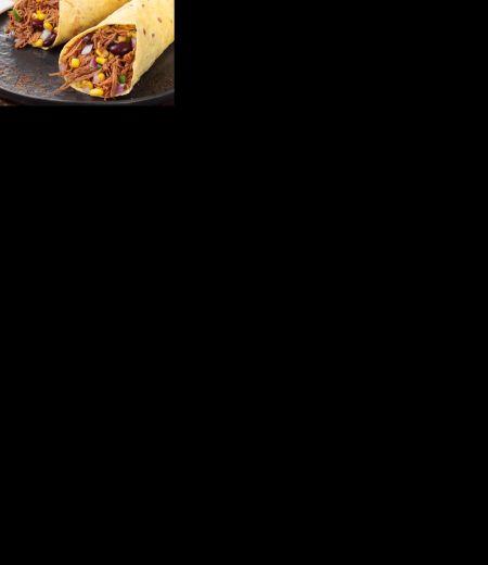 Fajitas Tex-Mex aux Effilochés de Porc