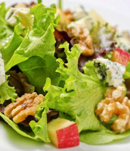 Farandole de salade aux fruits secs