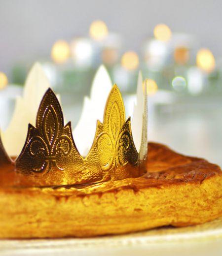 Galette des rois feuilletée à l'ananas
