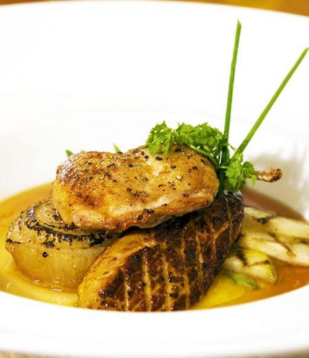 Soupes de foie gras en croûte