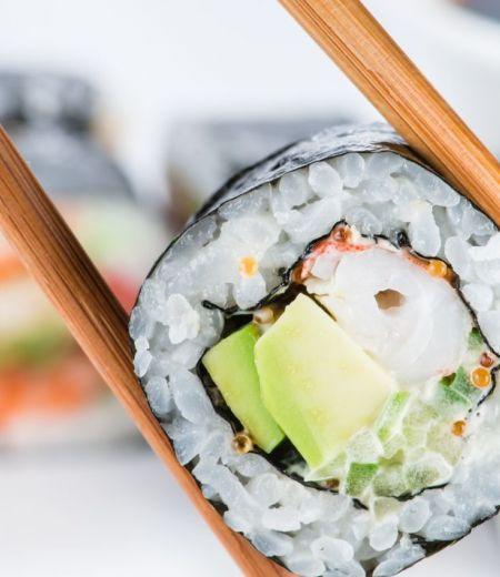 Maki surimi concombre fromage