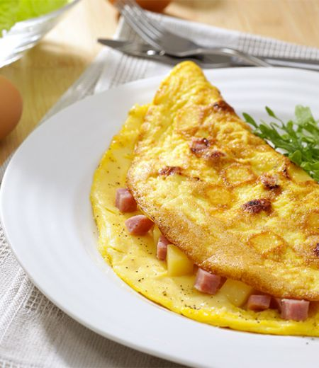 Omelette Duo jambon/emmental
