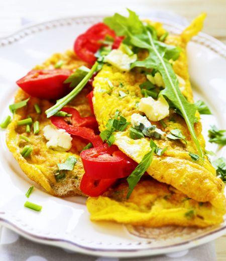 Omelette gourmande