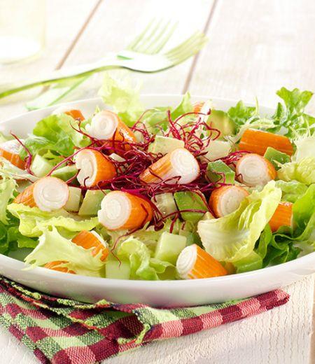 Salade d'été saveurs agrumes
