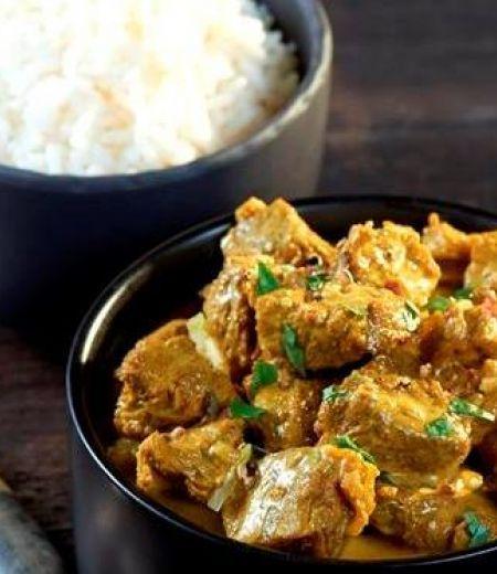 Curry rouge d'agneau