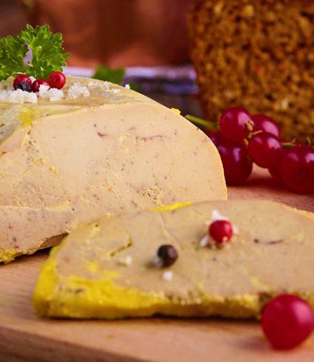 Toast pain d'Epices et au Fleuron de Canard