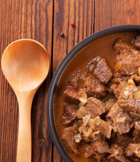 Carbonade de bœuf aux poireaux
