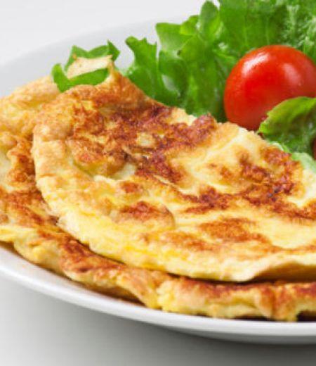 Omelette aux artichauts poivrade