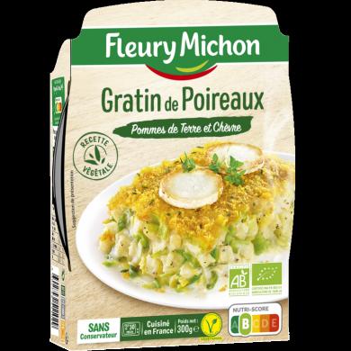 Gratin de poireaux Fleury Michon